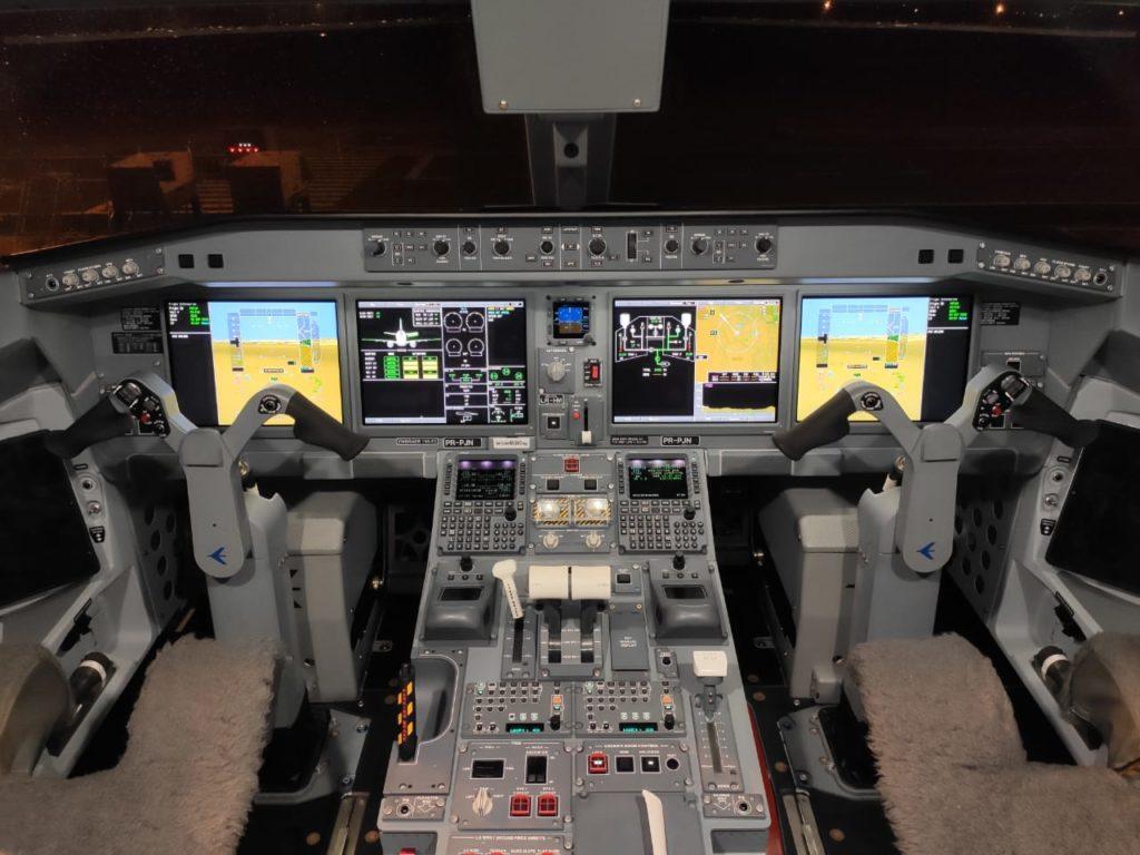 maior avião construído por uma empresa brasileira