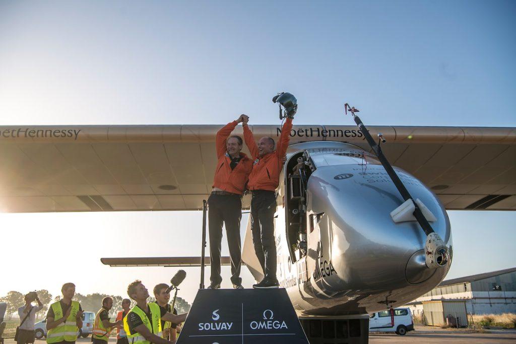 Primeiro Voo Solar - Solar Impulse (Impulso Solar)
