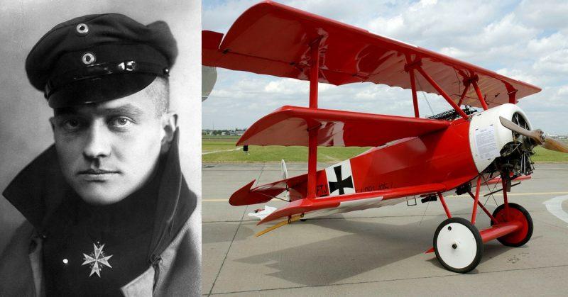 Avião de Guerra- Barão Vermelho