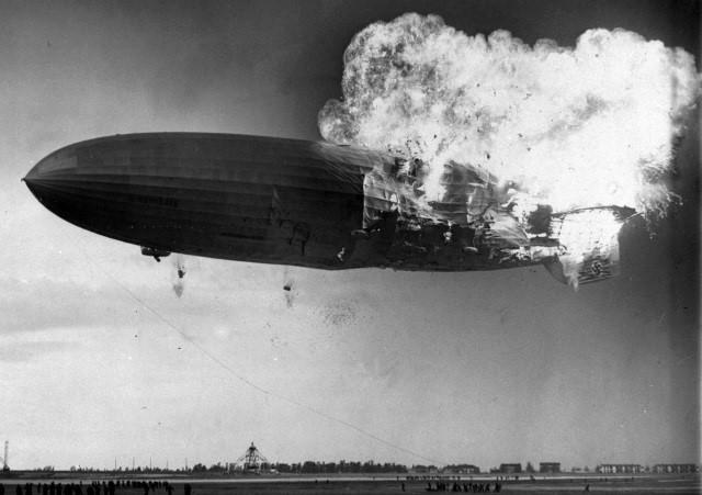 Incêndio no dirigível