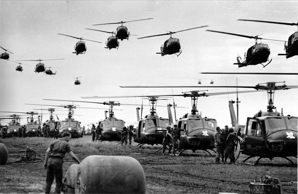 Helicópteros das forças armadas dos EUA