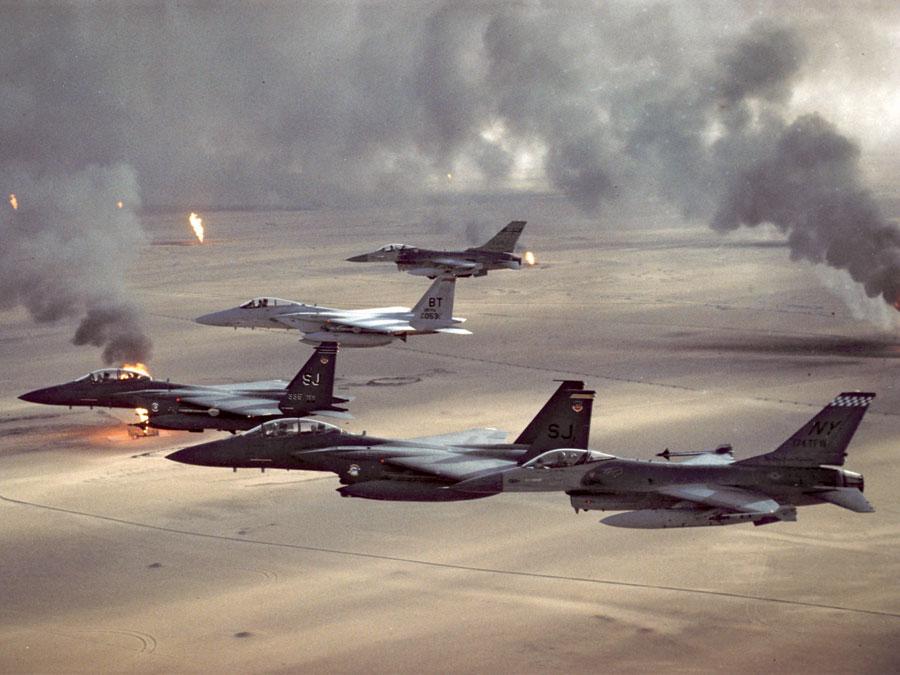 Operação Tempestade no Deserto, 1991.