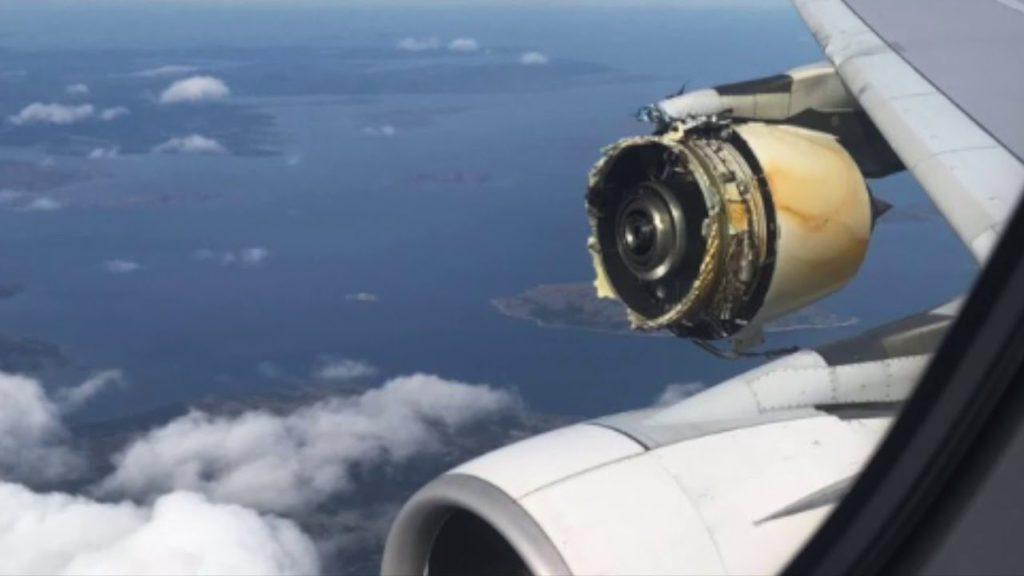 Falha estrutural na aviação